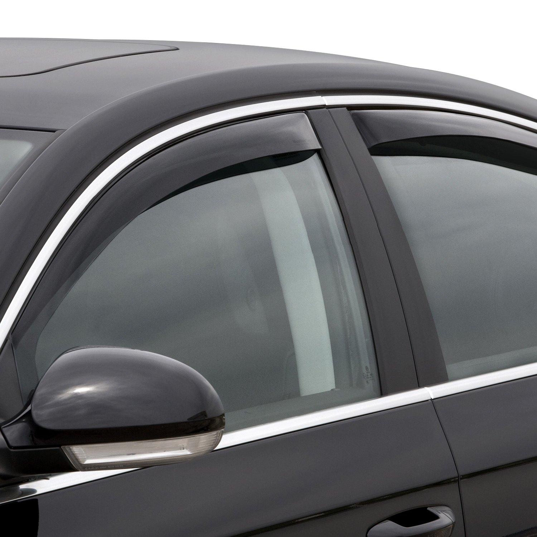 Weathertech Window Visors >> WeatherTech® - Volkswagen Passat 2007 In-Channel Side ...