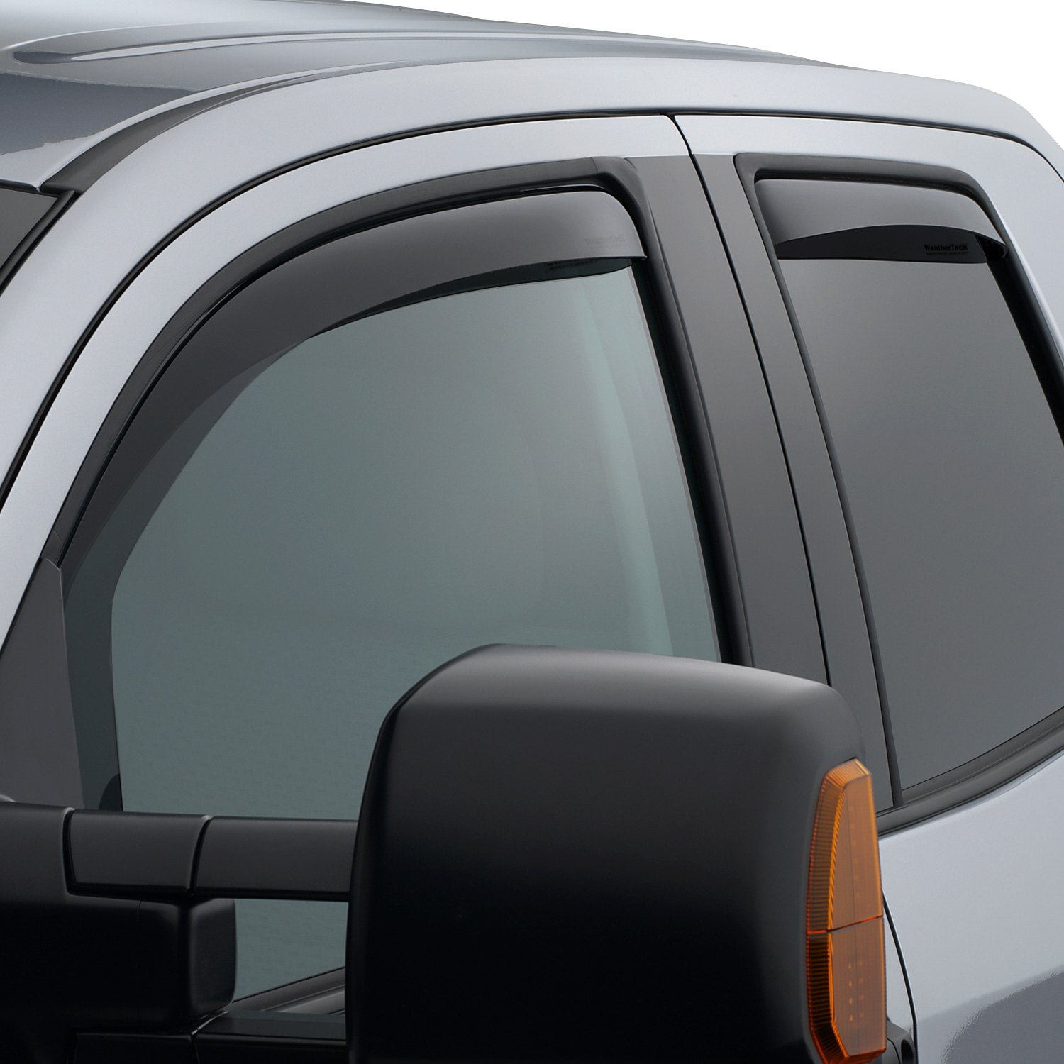 All Weather Tires >> WeatherTech® - Toyota Tundra 2007 In-Channel Side Window ...