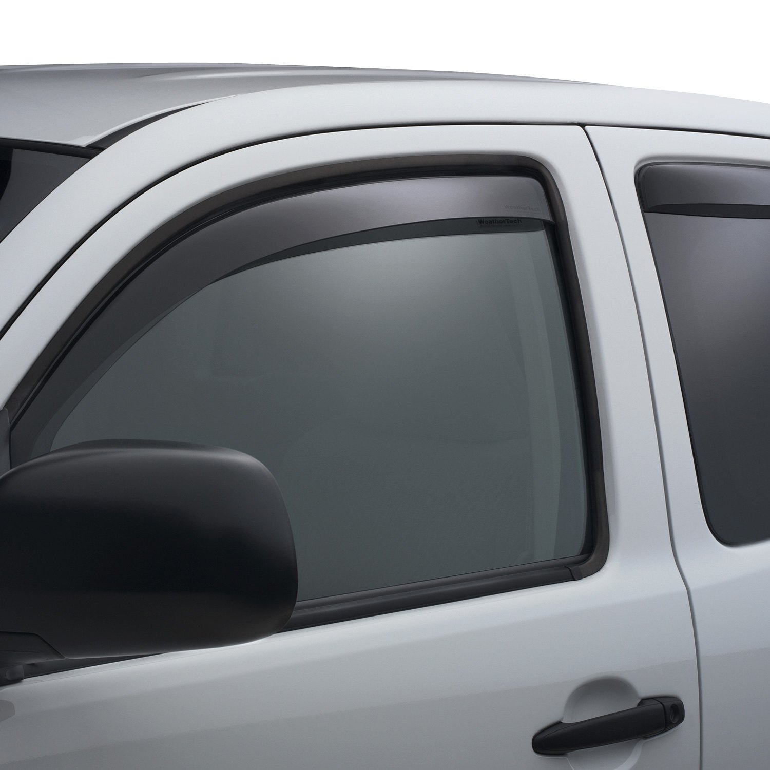 All Weather Tires >> WeatherTech® - Toyota Tacoma 2015 In-Channel Side Window Deflectors
