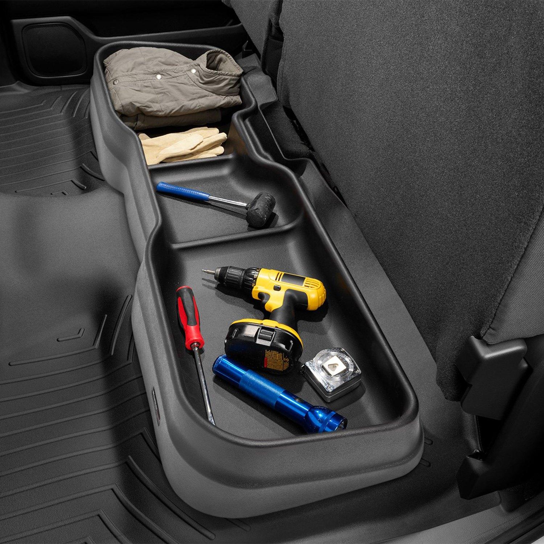 F150 Under Seat Storage >> Weathertech Under Seat Storage System
