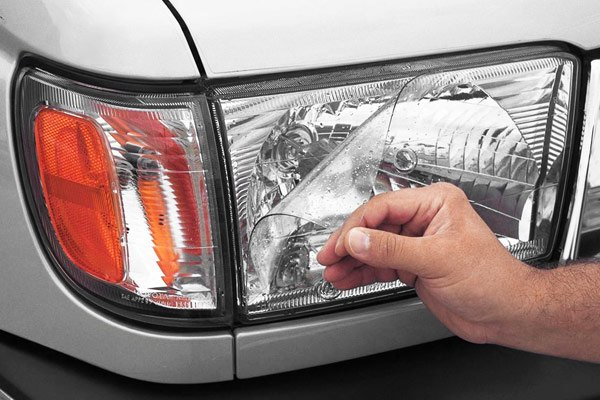 XPEL H2605 Clear Headlamp Signal Lamp and Fog Lamp Protection Kit Weathertech