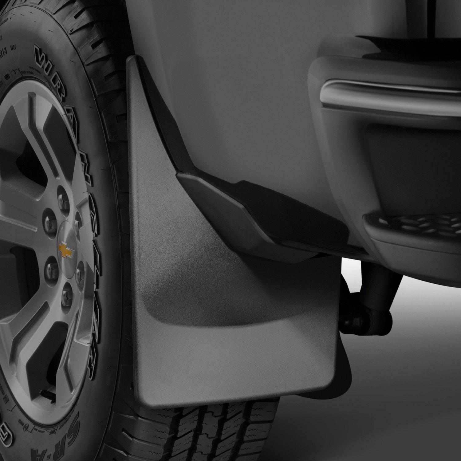 F350 Dually Wheels >> WeatherTech® - Ford F-150 2018 DigitalFit™ Black Mud Flaps