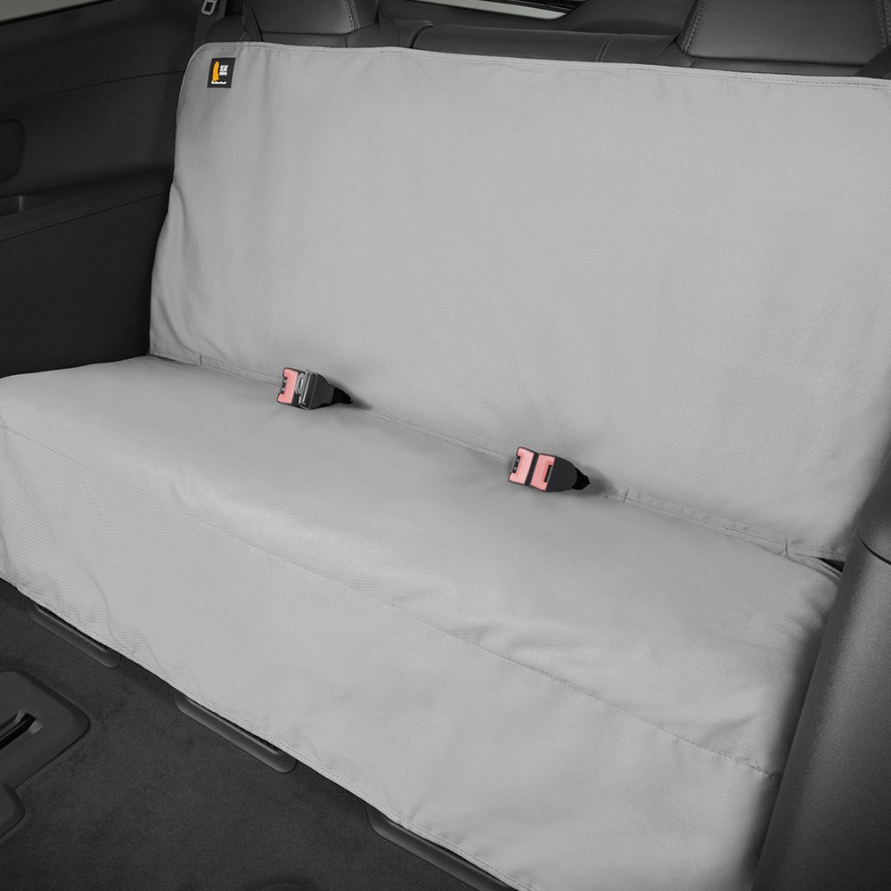 Car Bench Seat Covers >> WeatherTech® DE2030GY - 4th Row Gray Seat Protector