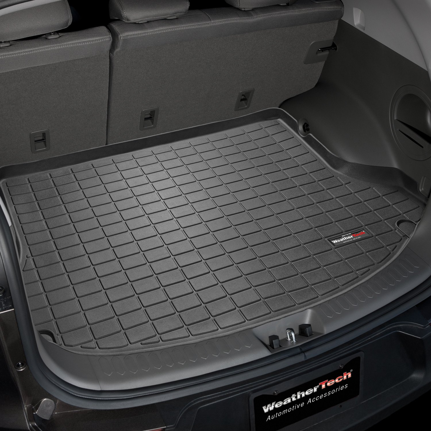 Kia Performance Center >> WeatherTech® 40465 - Black Cargo Liner (Behind 2nd Row)