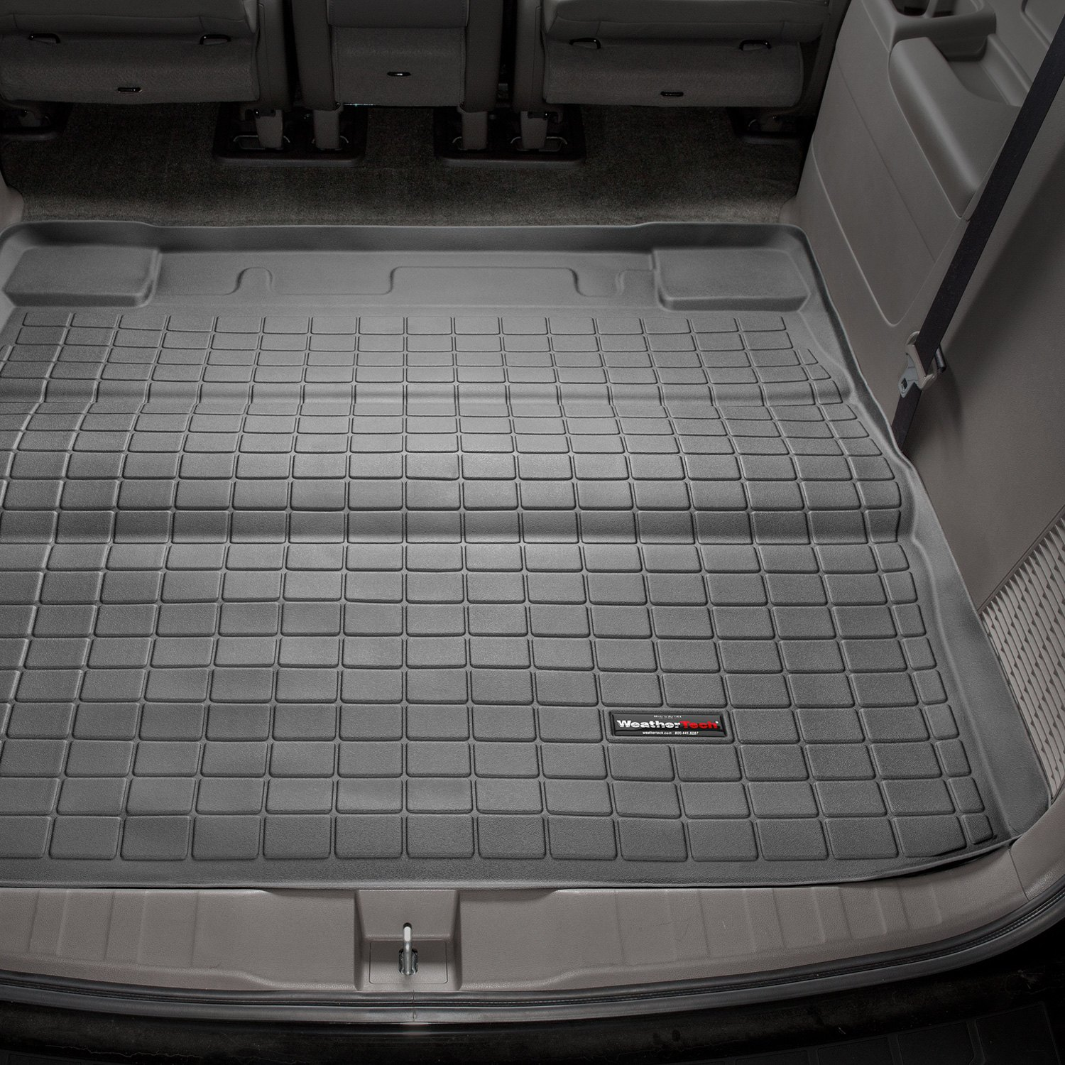 Weathertech 40476 black cargo liner behind 2nd row weathertech cargo liner black dailygadgetfo Image collections