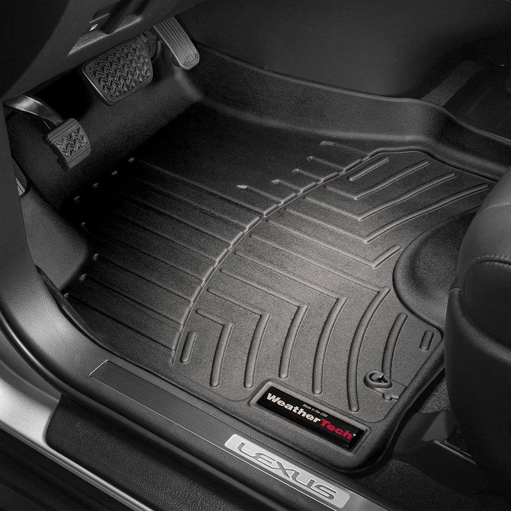 Weathertech floor mats lexus rx 330 - Weathertech Digitalfit Molded Floor Liners Black