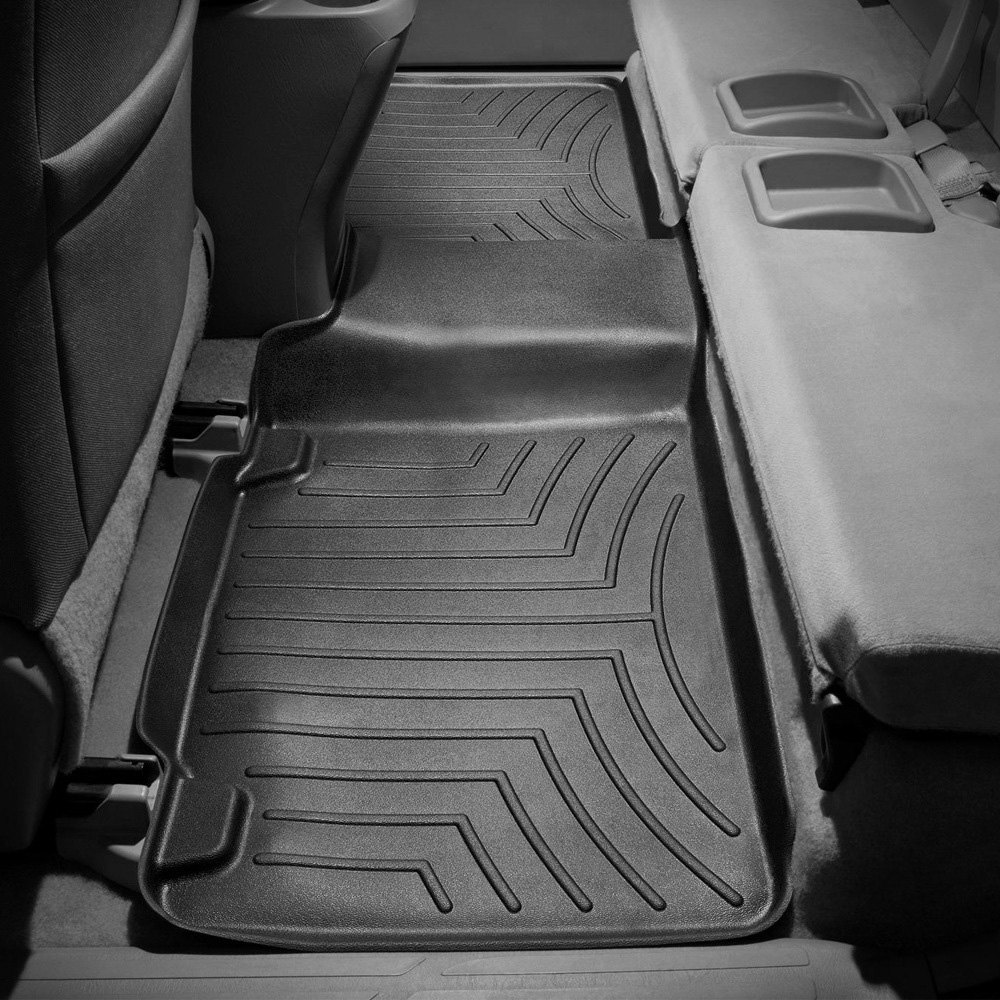 Weathertech floor mats tacoma - Weathertech Digitalfit Molded Floor Liner Black