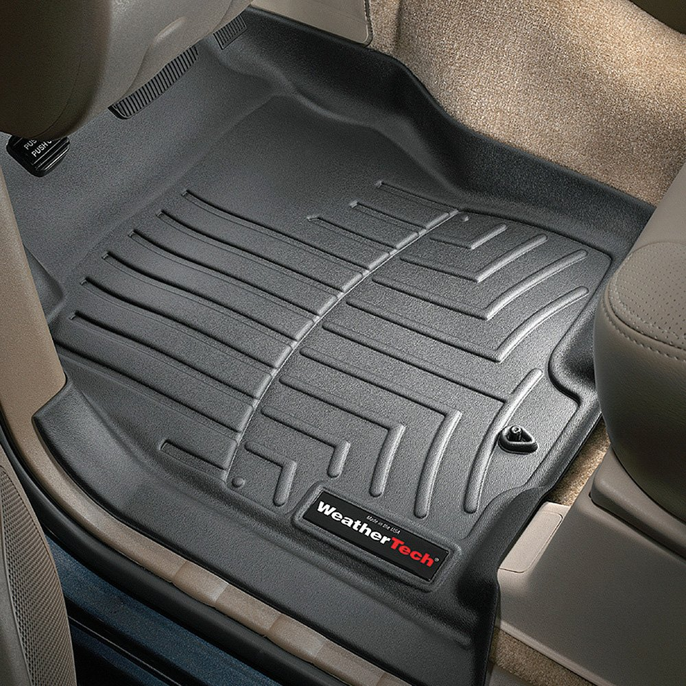 Weathertech floor mats nissan pathfinder - Weathertech Digitalfit Molded Floor Liners Black