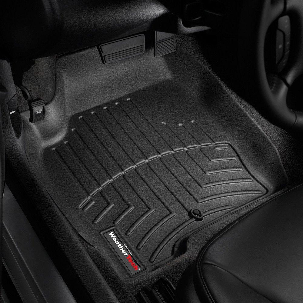 Weathertech mats buffalo - Weathertech Digitalfit Molded Floor Liners Black