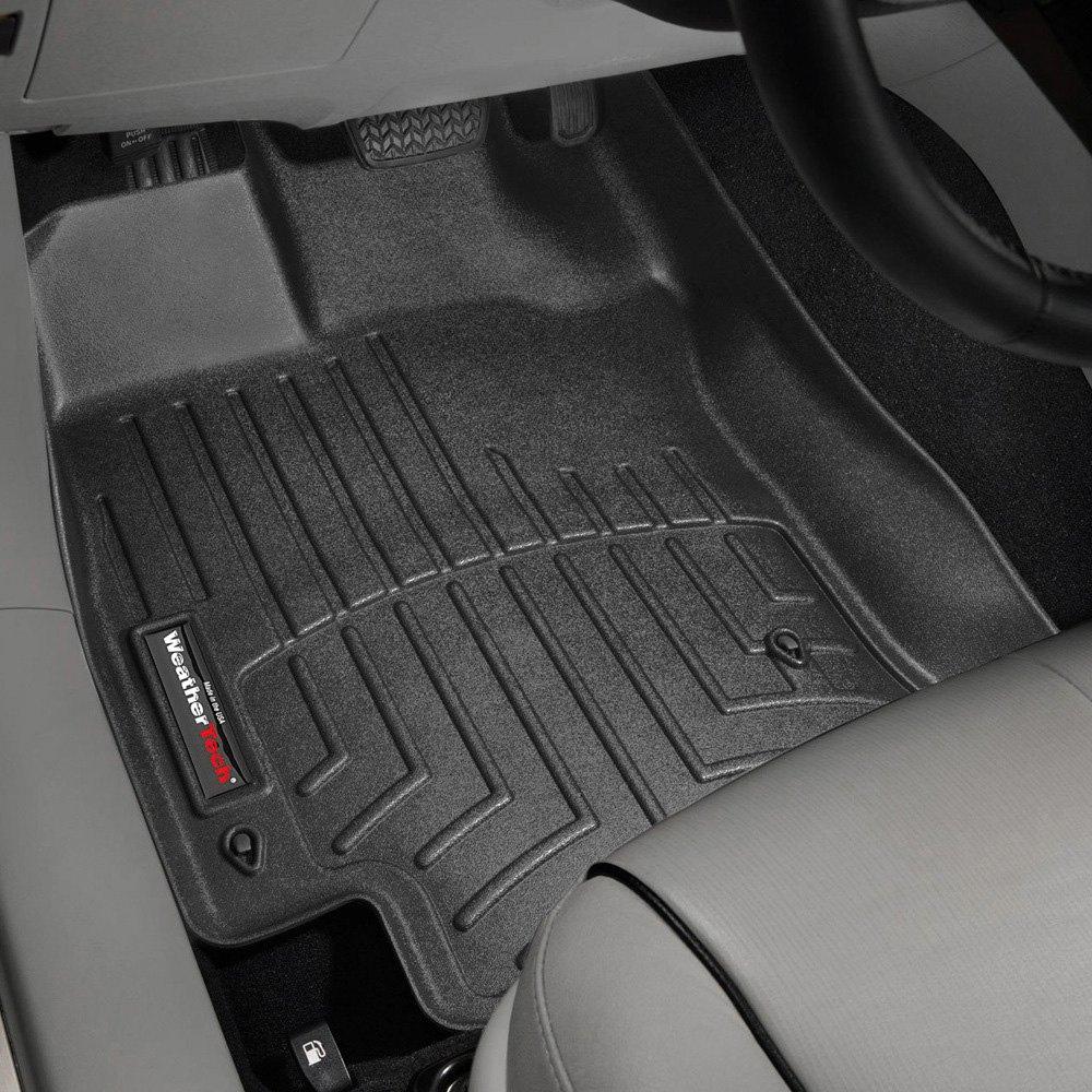 Weathertech floor mats venza - Weathertech Digitalfit Molded Floor Liners Black