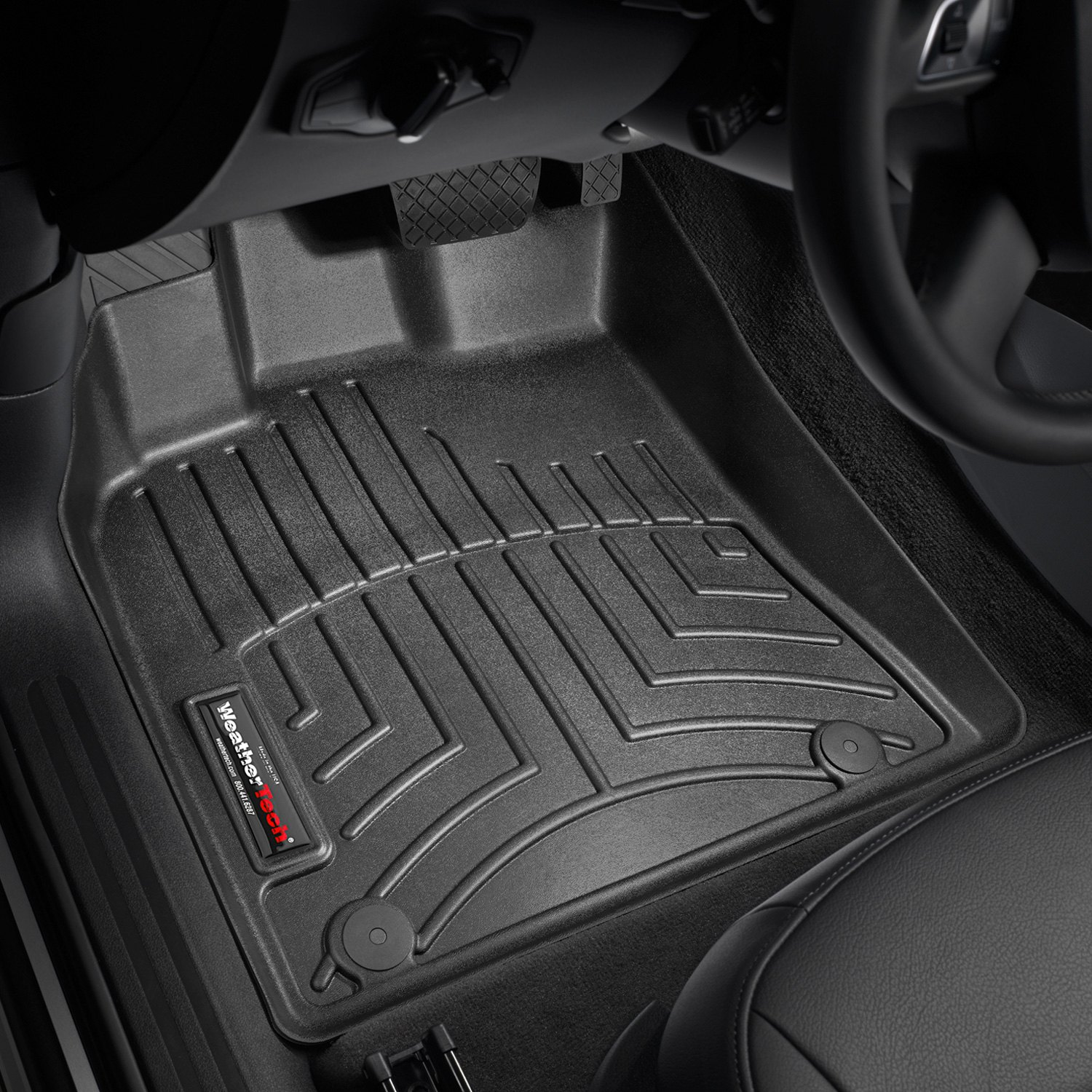 hl car mats liners husky front supercrew floor supercab weatherbeater black