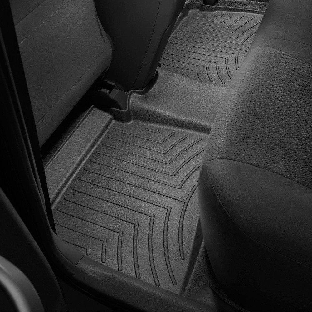 Weathertech floor mats prius - Weathertech Digitalfit Molded Floor Liner Black