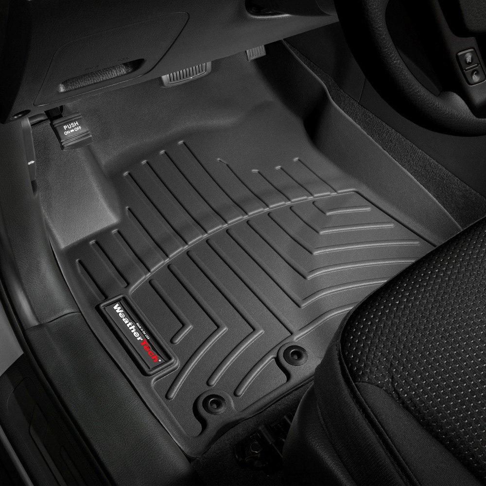 Weathertech floor mats kia sorento - Weathertech Digitalfit Molded Floor Liners Black