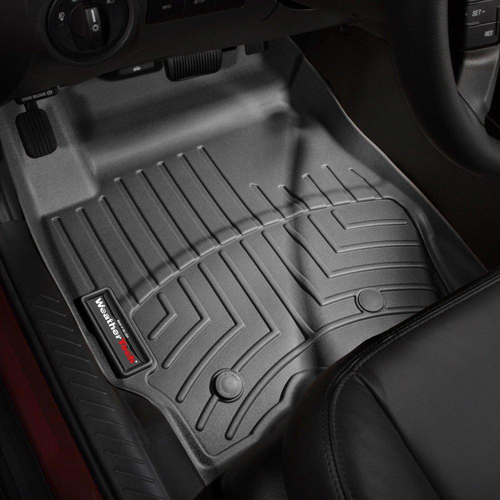 WeatherTech® - DigitalFit™ Molded Floor Liners - Black