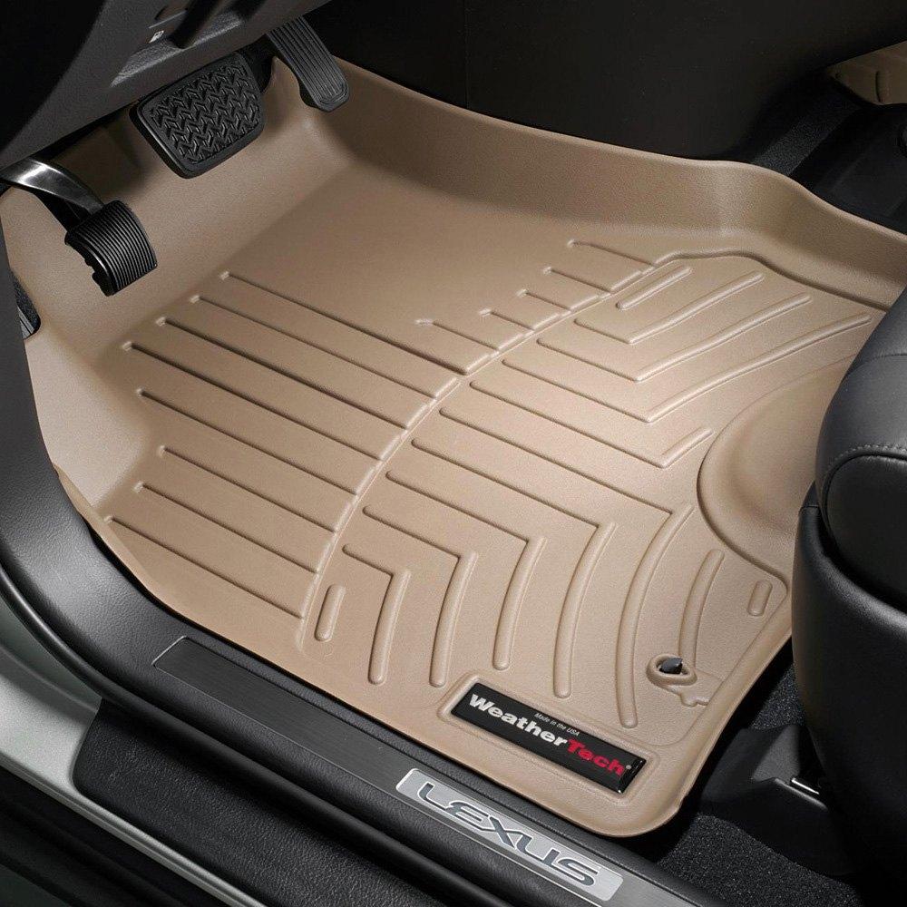 Weathertech floor mats lexus rx 330 - Weathertech Digitalfit Molded Floor Liners Tan