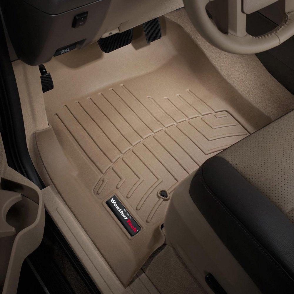 Weathertech 174 451071 Digitalfit 1st Row Tan Molded Floor