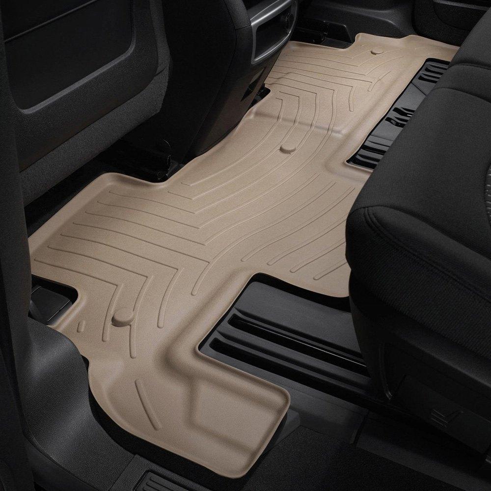 WeatherTech®   DigitalFit™ Molded Floor Liner   Tan