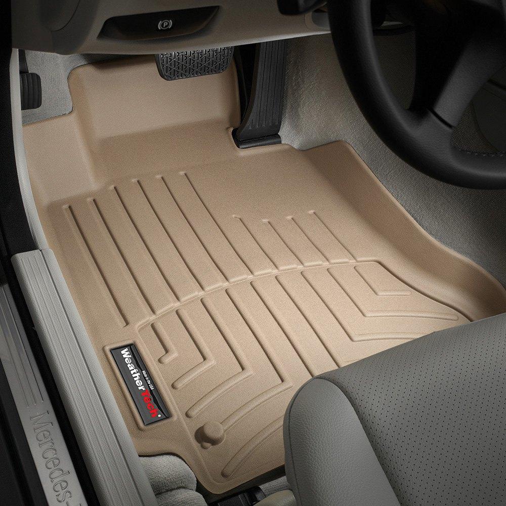 Weathertech floor mats calgary - Weathertech Digitalfit Molded Floor Liners Tan