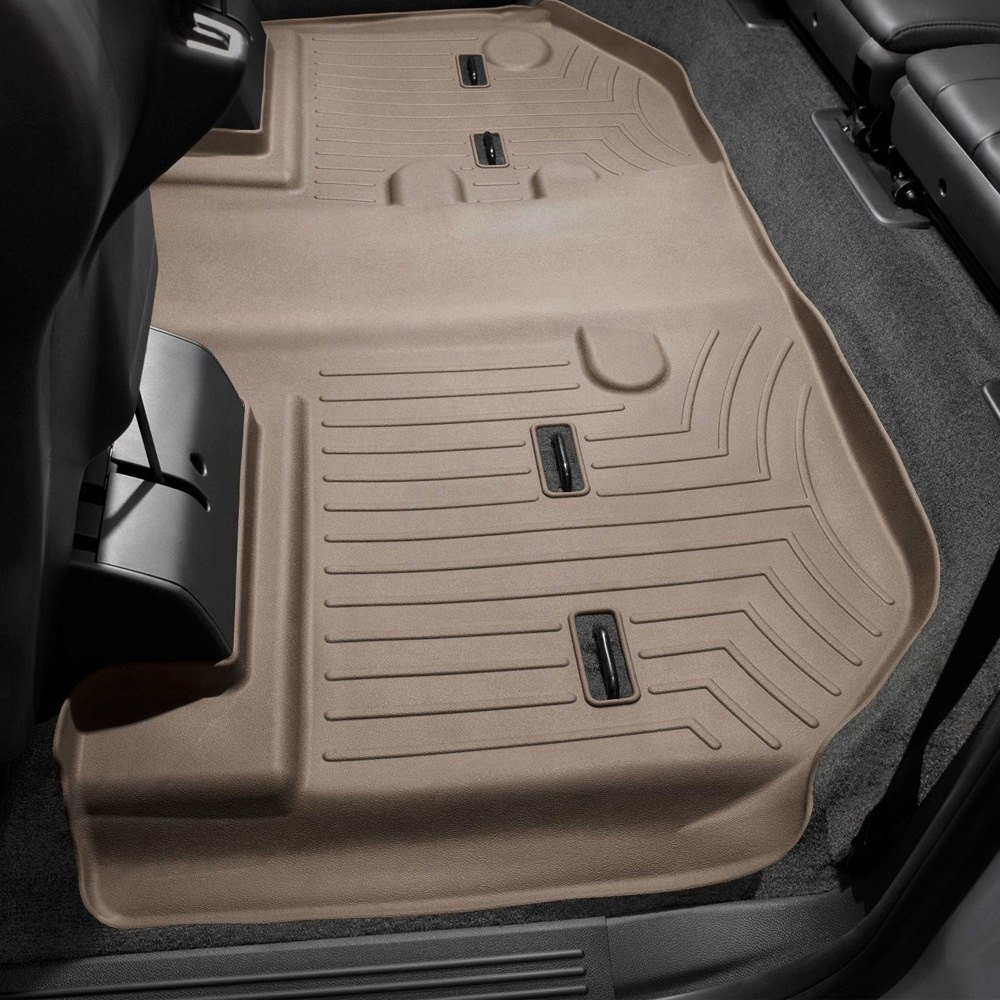Weathertech 174 452354 Digitalfit 3rd Row Tan Molded Floor