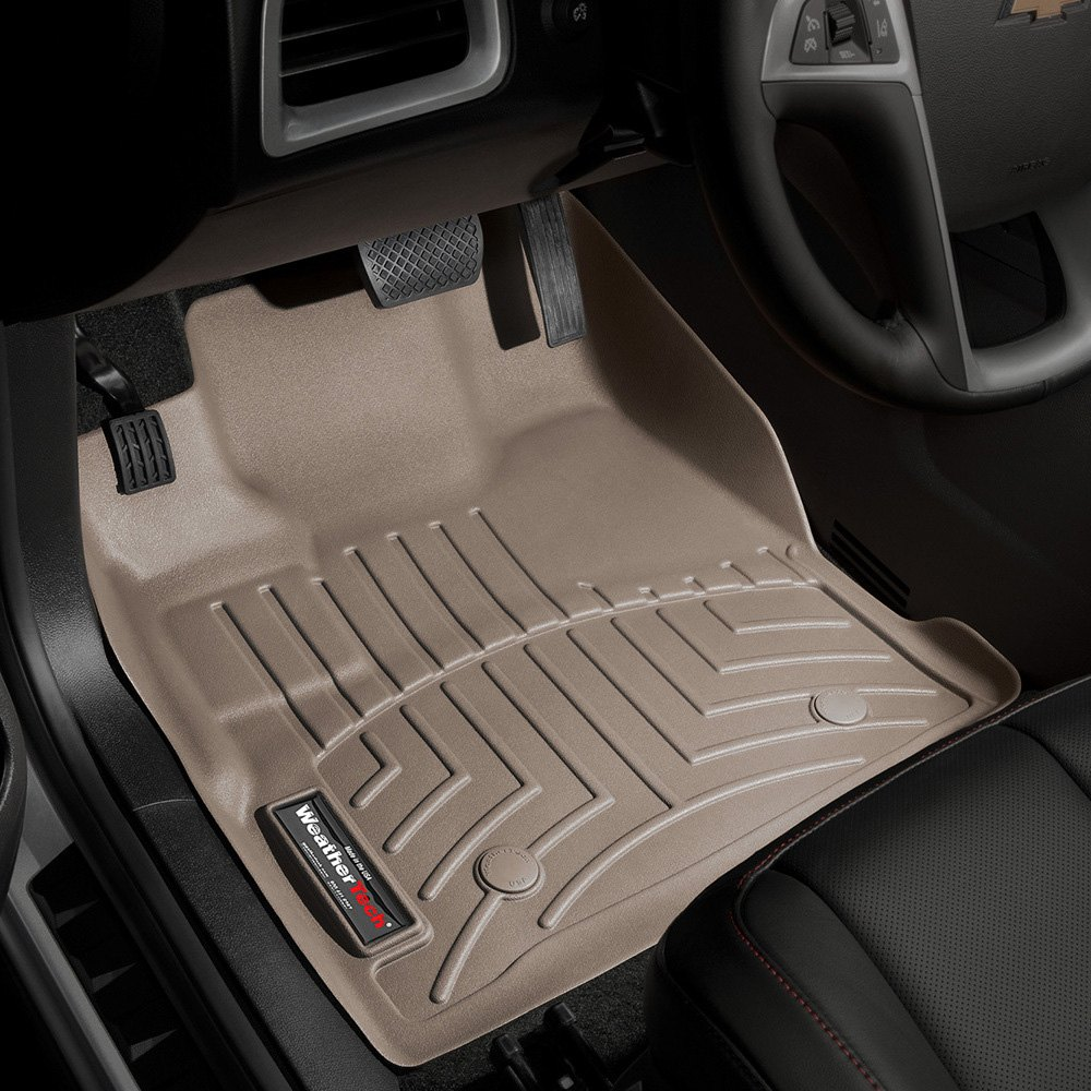 Weathertech 174 453461 Digitalfit 1st Row Tan Molded Floor
