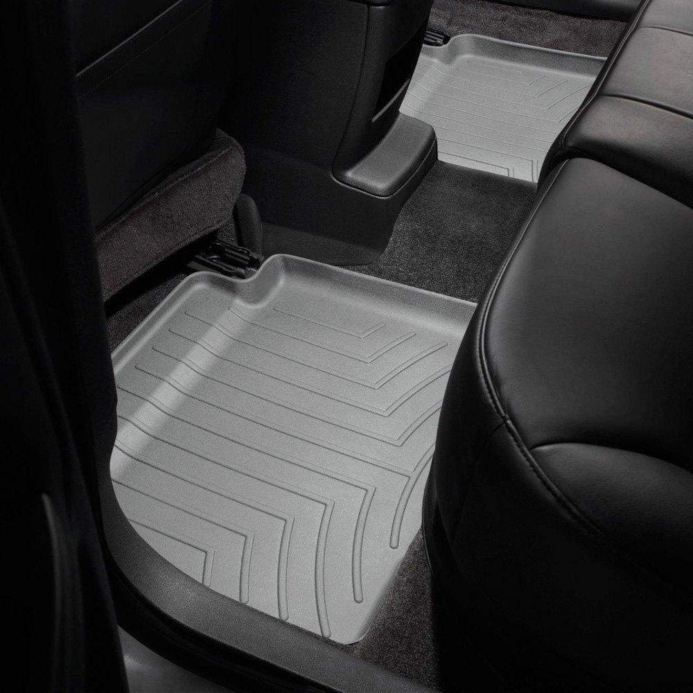 Weathertech mats buffalo - Weathertech Digitalfit Molded Floor Liners Gray