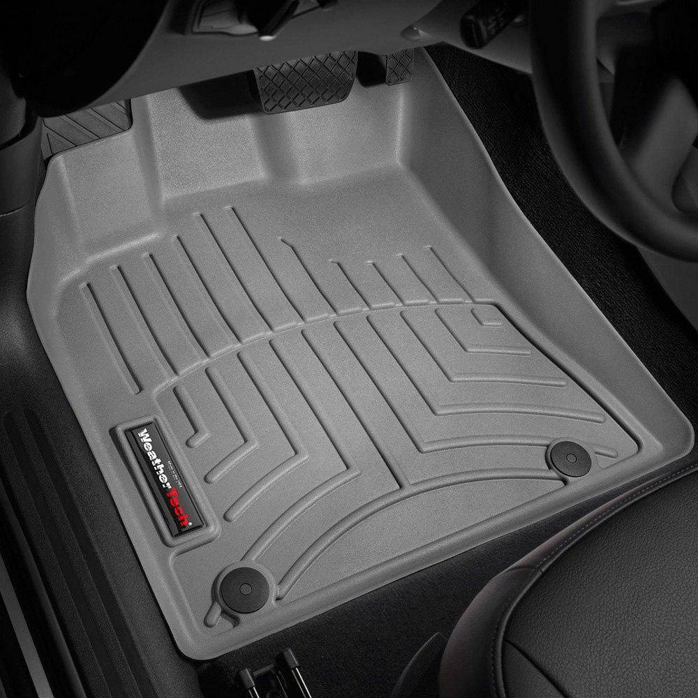 Weathertech floor mats audi q5 - Weathertech Digitalfit Molded Floor Liners Gray
