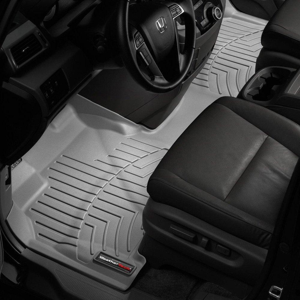 Grey 463471 WeatherTech Custom Fit Front FloorLiner for Honda Odyssey