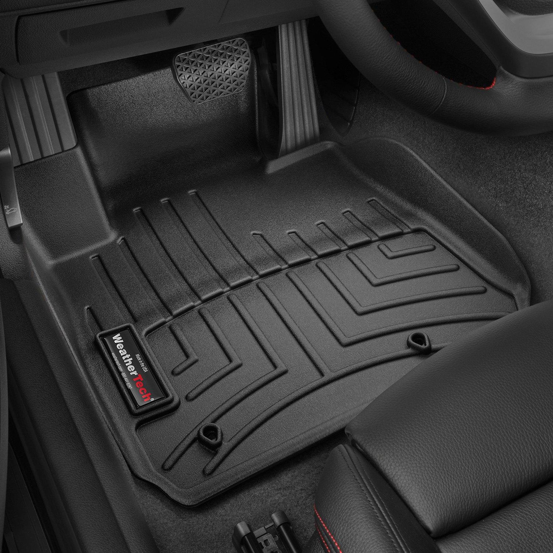 Weathertech floor mats bmw 328i - Weathertech Digitalfit Molded Floor Liners Black