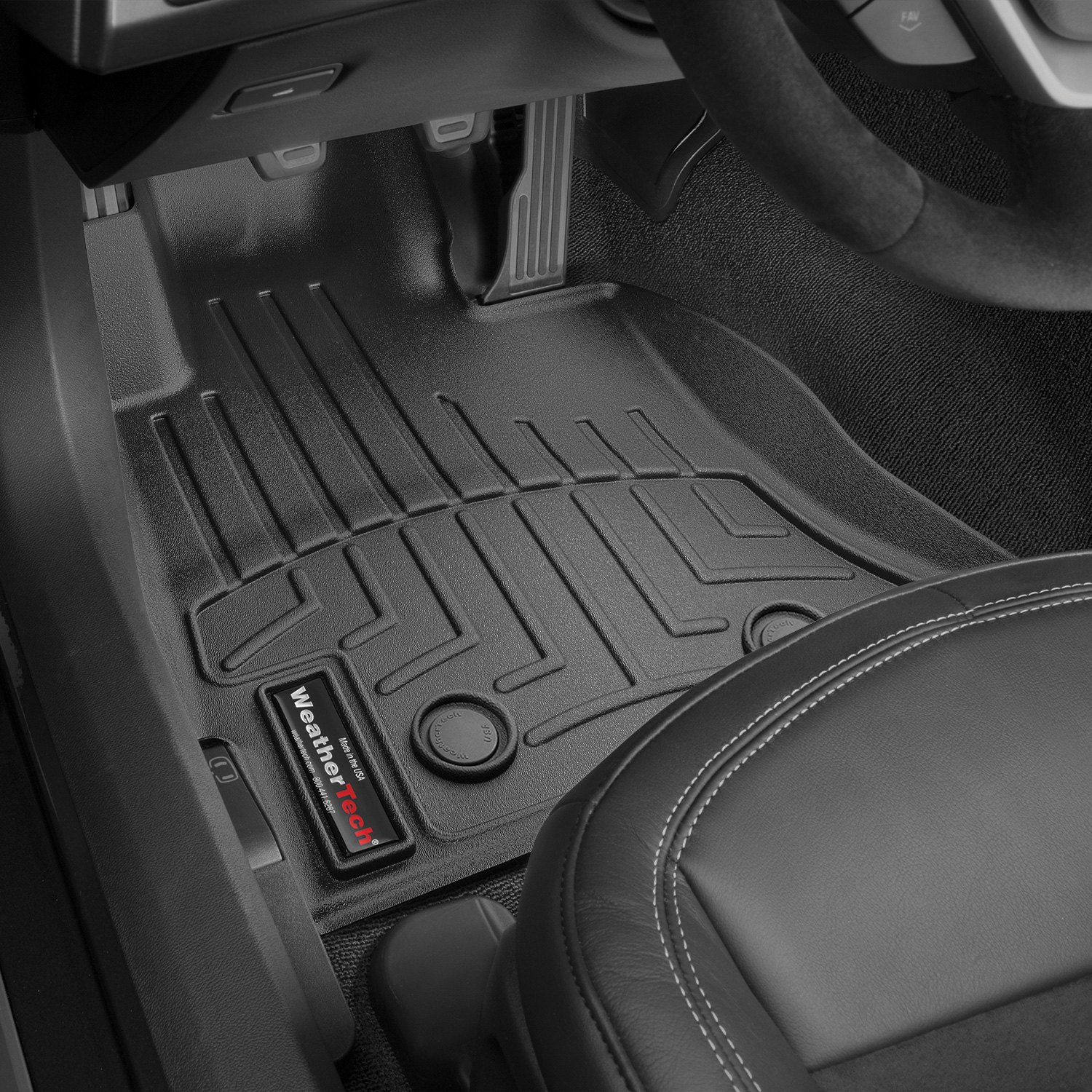 Weathertech 174 445891 Digitalfit 1st Row Black Molded