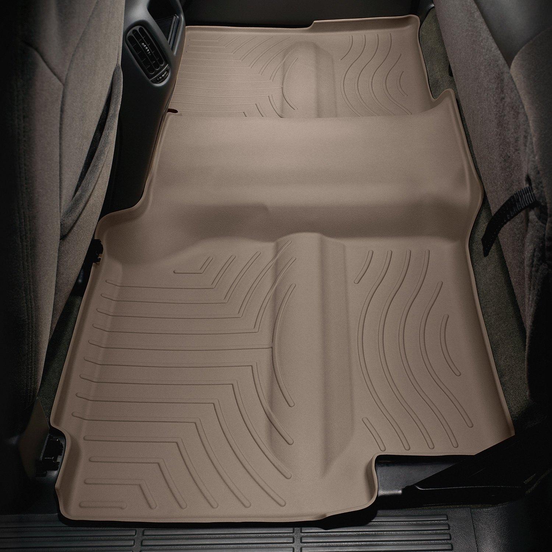 WeatherTech  440622  Custom Fit Rear FloorLiner for Select Chevrolet//GMC Models Black