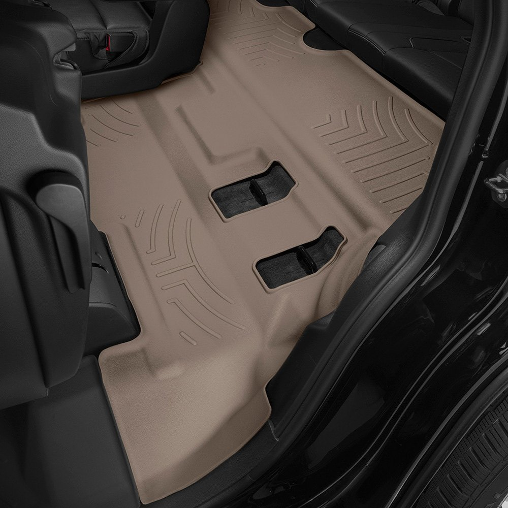 Weathertech 174 456077 Digitalfit 3rd Row Tan Molded Floor