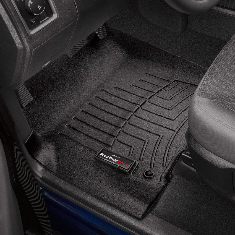 Weathertech floor mats dodge ram 2500 - Weathertech Digitalfit Molded Floor Liners Black