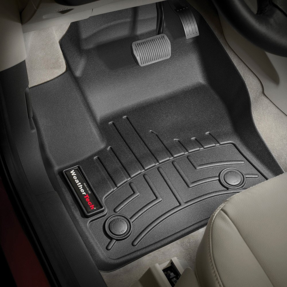 Weathertech digitalfit molded floor liners black