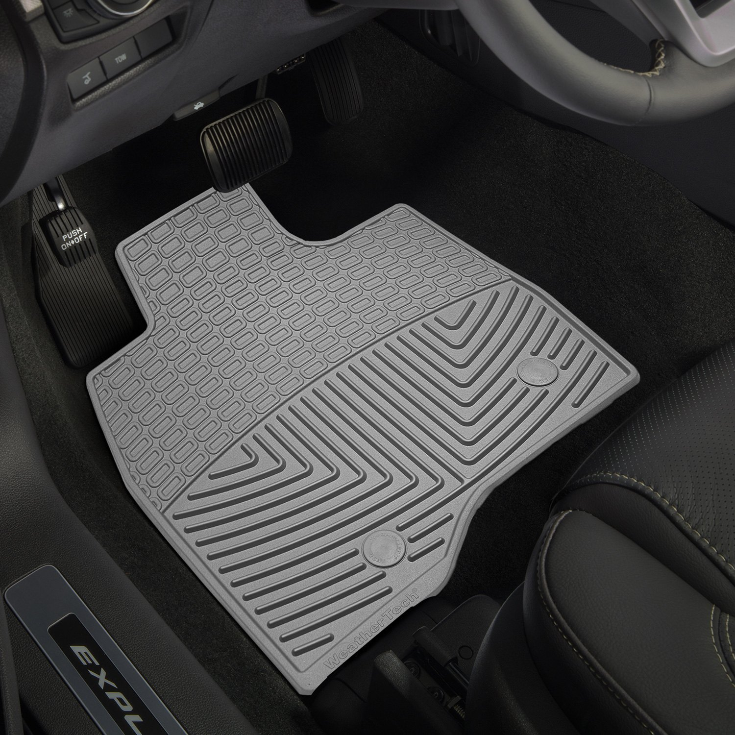 Weathertech all vehicle mats review - Weathertech 174 All Weather Floor Mats Gray Weathertech 174 All