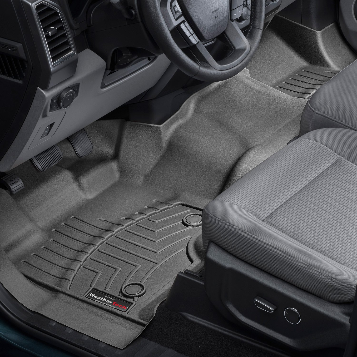 Weathertech Digitalfit Molded Floor Liner Black