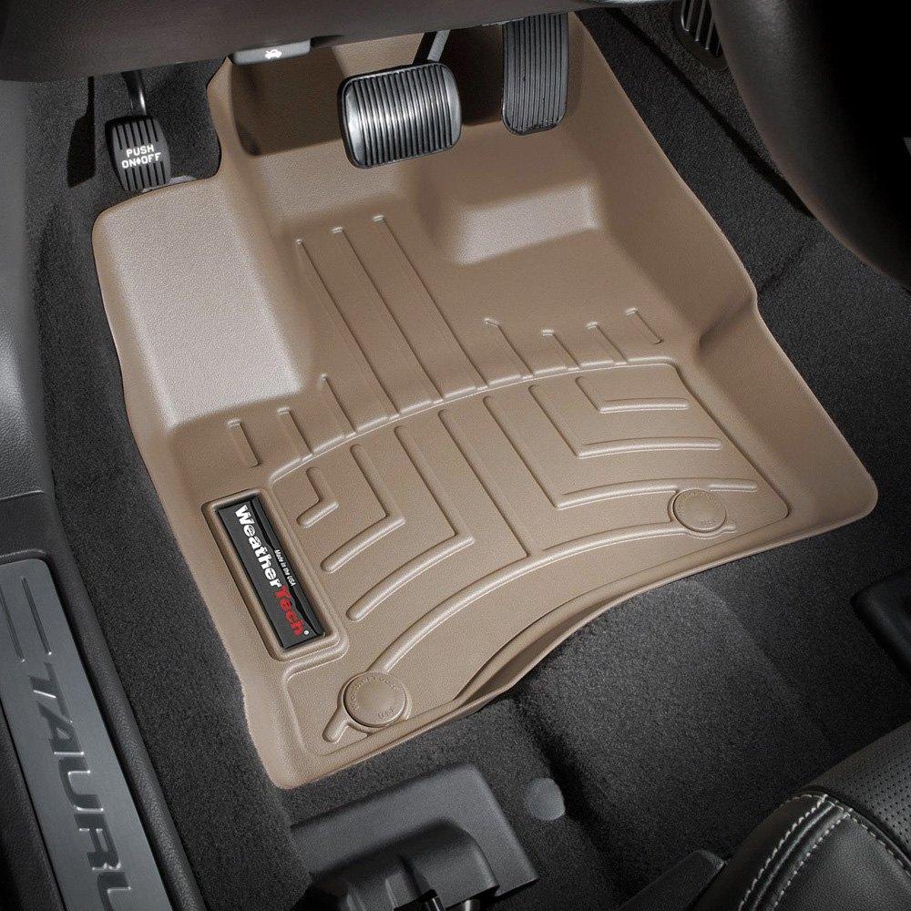 Weathertech digitalfit molded floor liners tan