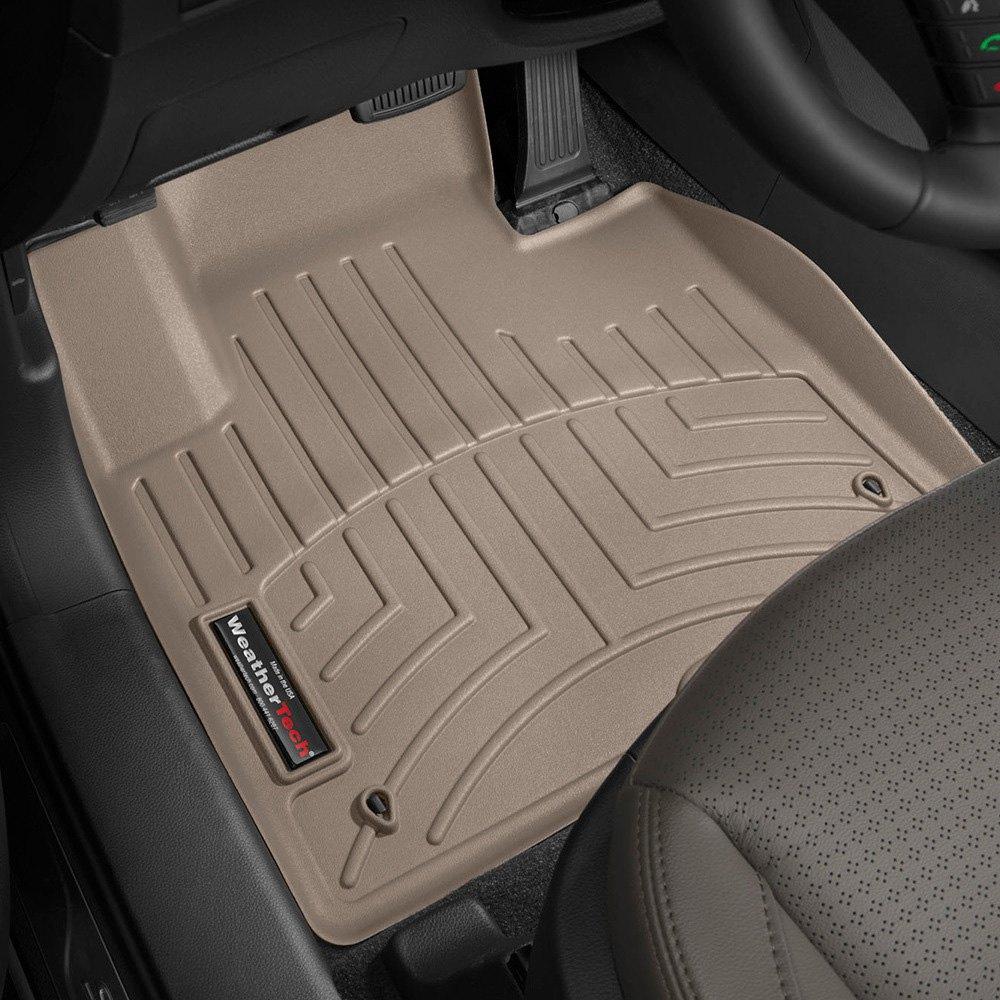 Weathertech floor mats brampton - Weathertech Digitalfit Molded Floor Liners Tan