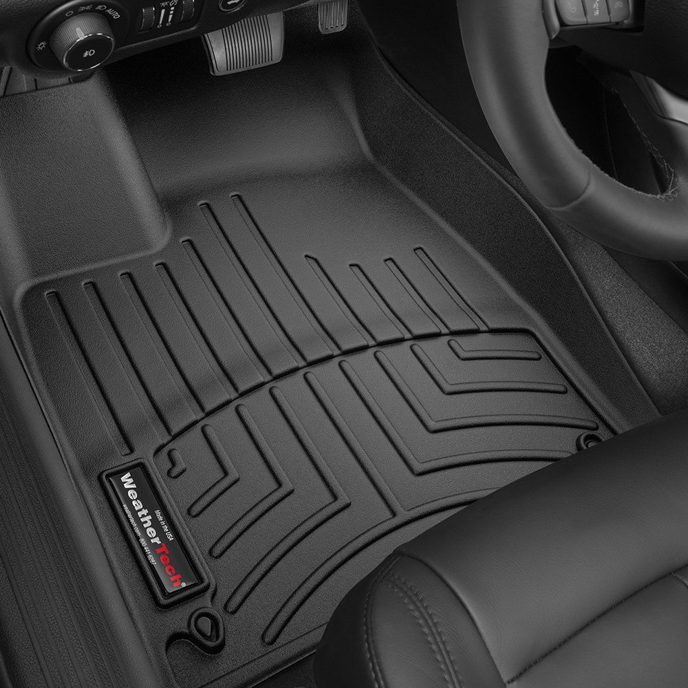 Weathertech floor mats hyundai tucson - Weathertech Digitalfit Molded Floor Liners Black
