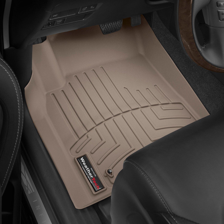 Floor mats qx80 - Weathertech Digitalfit Molded Floor Liners Tan