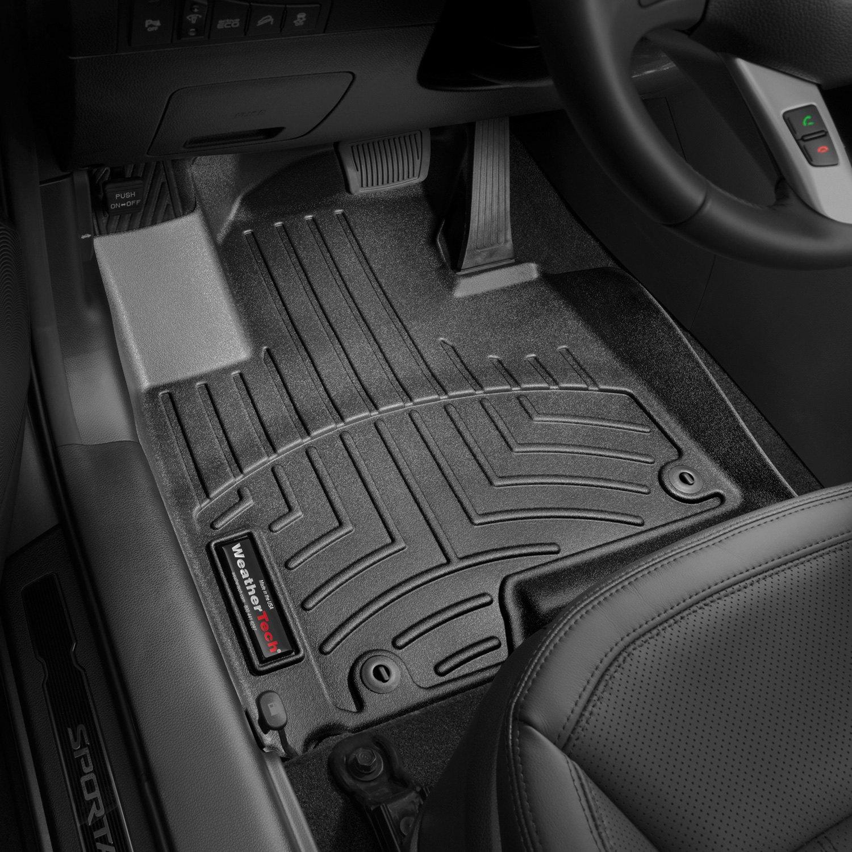 Weathertech floor mats 2013 kia sportage - Weathertech Digitalfit Molded Floor Liners Black
