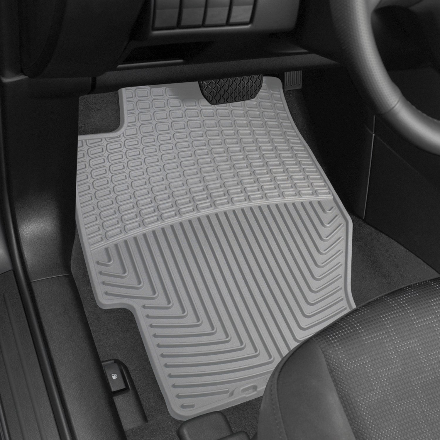 weathertech w34gr all weather 1st row gray floor mats rh carid com Acura Floor Mats with Logo Acura RSX Floor Mats for Winter