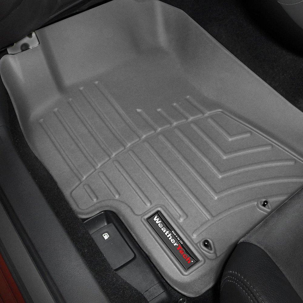 Weathertech floor mats calgary - Weathertech Digitalfit Molded Floor Liners Gray