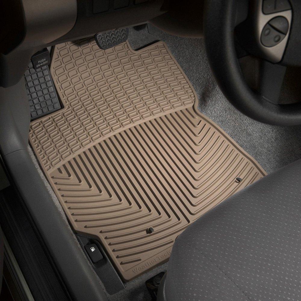 Weathertech floor mats prius - Weathertech All Weather Floor Mats Tan