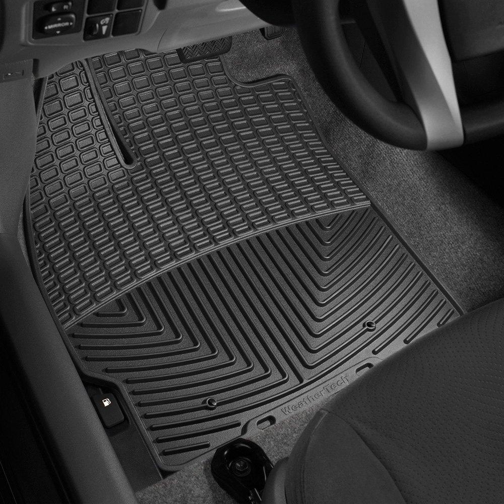 Weathertech floor mats prius - Weathertech All Weather Floor Mats Black