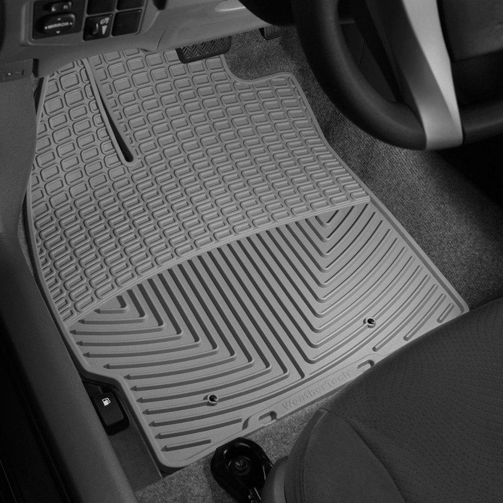 Weathertech floor mats prius - Weathertech All Weather Floor Mats Gray