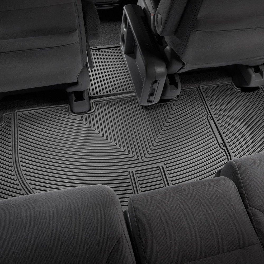 Weathertech floor mats honda odyssey 2005 - Weathertech All Weather Floor Mats Black