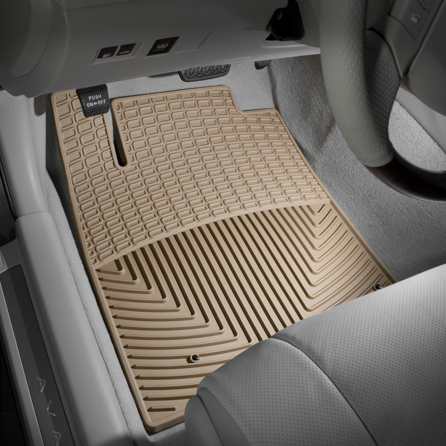 weather tan mats row all accord mpn floor weathertech