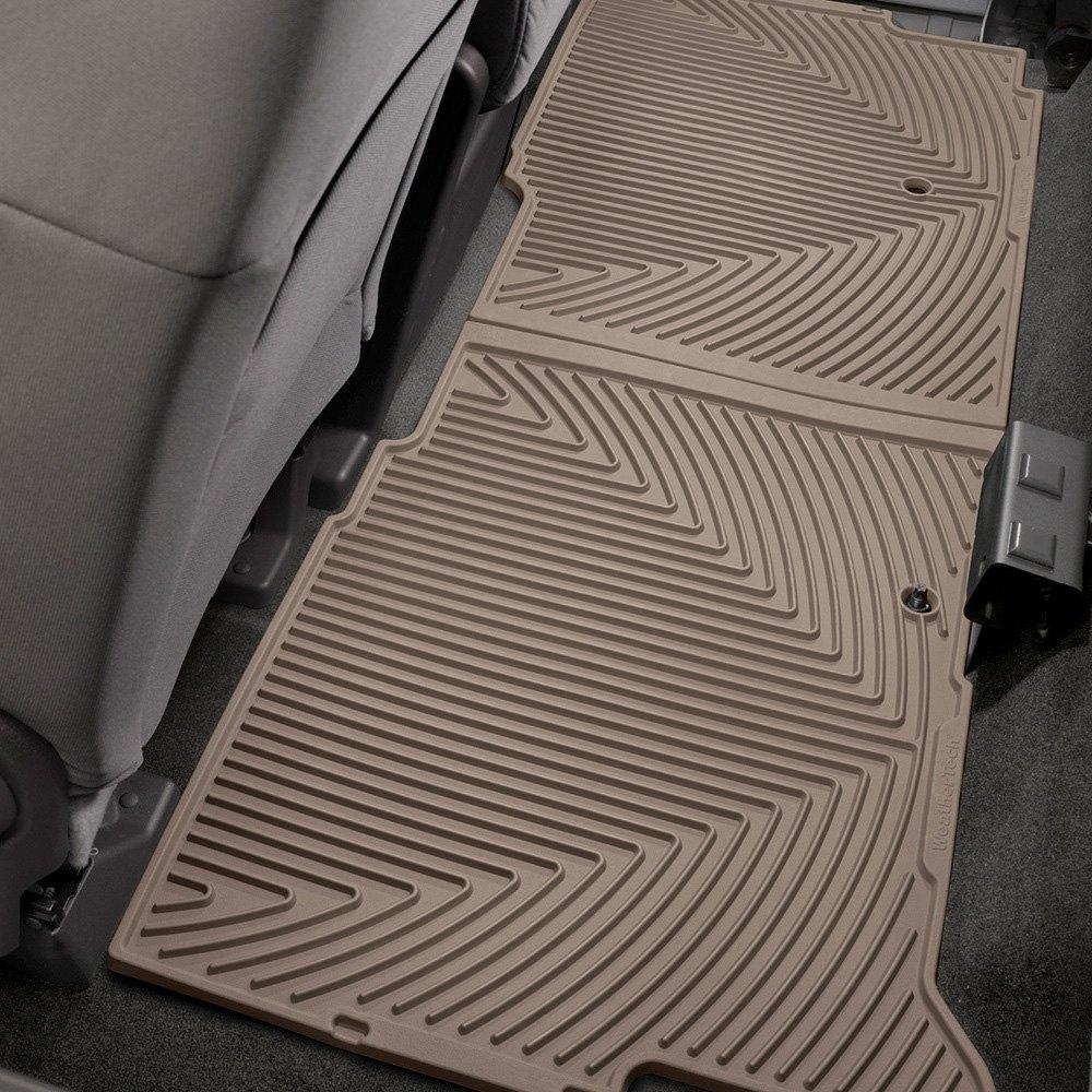 Weathertech 174 W206tn All Weather 2nd Row Tan Floor Mat