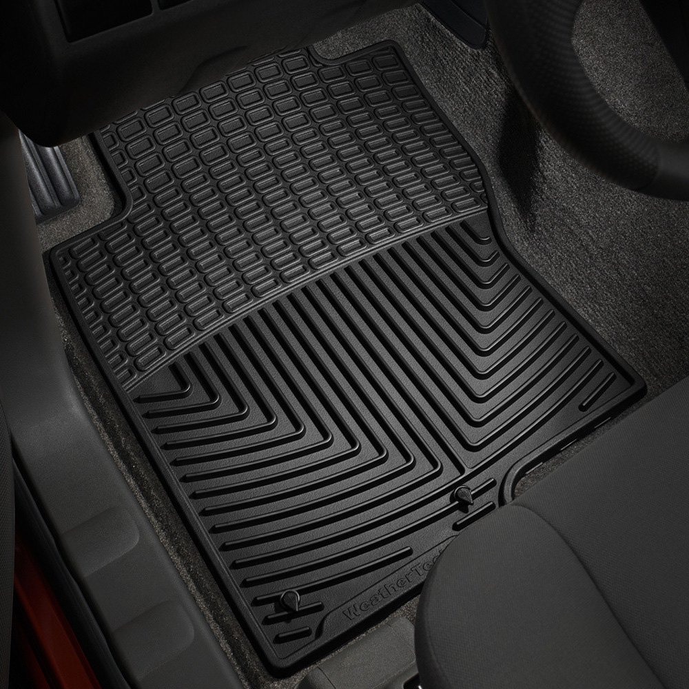Weathertech floor mats nissan pathfinder - Weathertech All Weather Floor Mats Black
