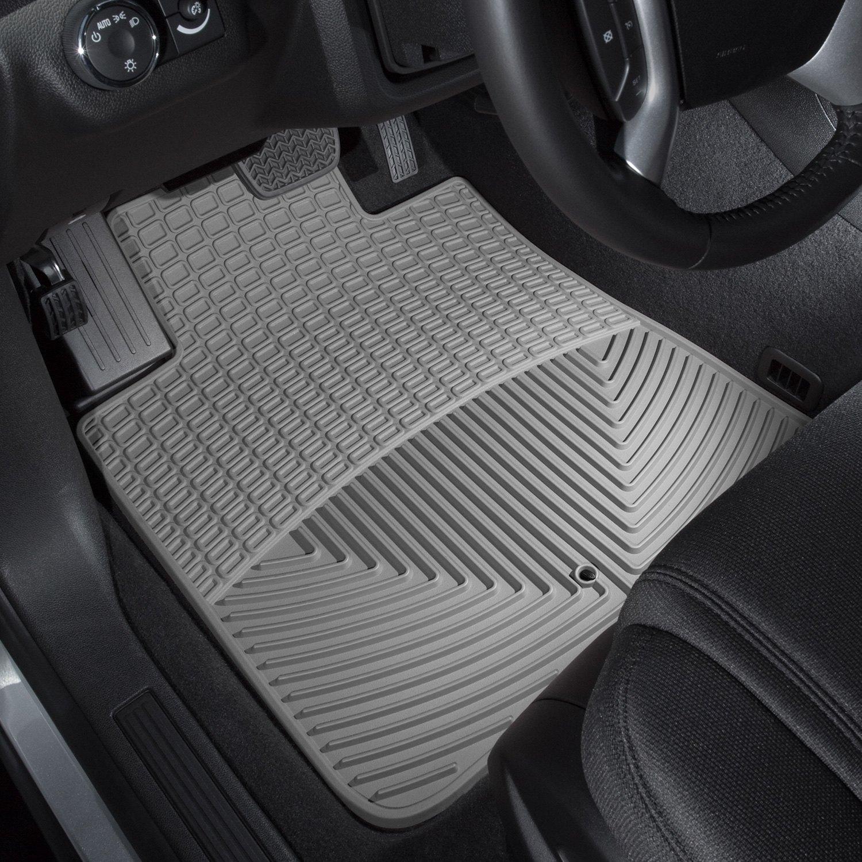 Rubber floor mats gmc acadia - Weathertech All Weather Floor Mats Gray